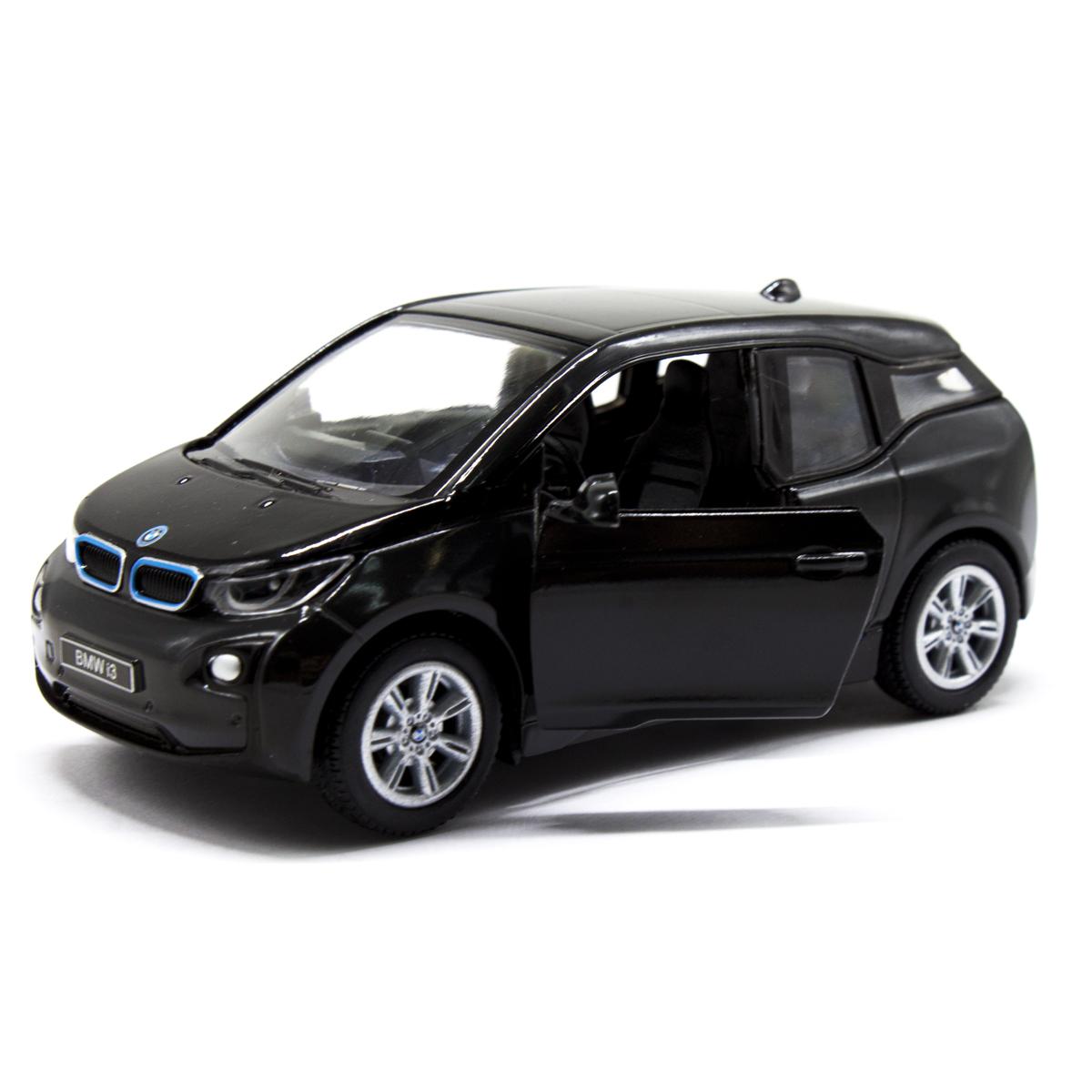 """Машинка KINSMART BMW I3 (чёрная) купить в магазине """"Пустун"""""""