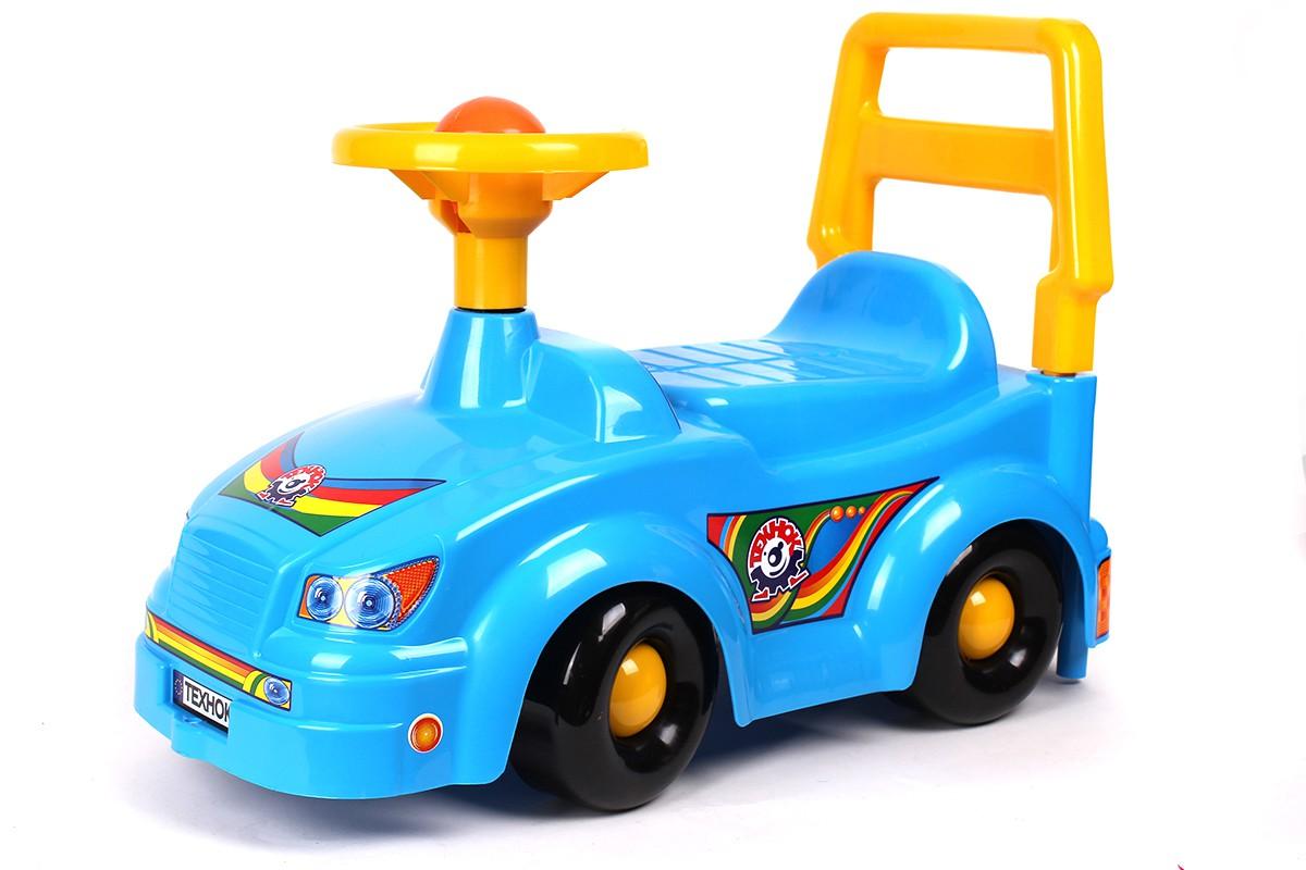 """Машинка Автомобиль для прогулок (синяя) купить в магазине """"Пустун"""""""
