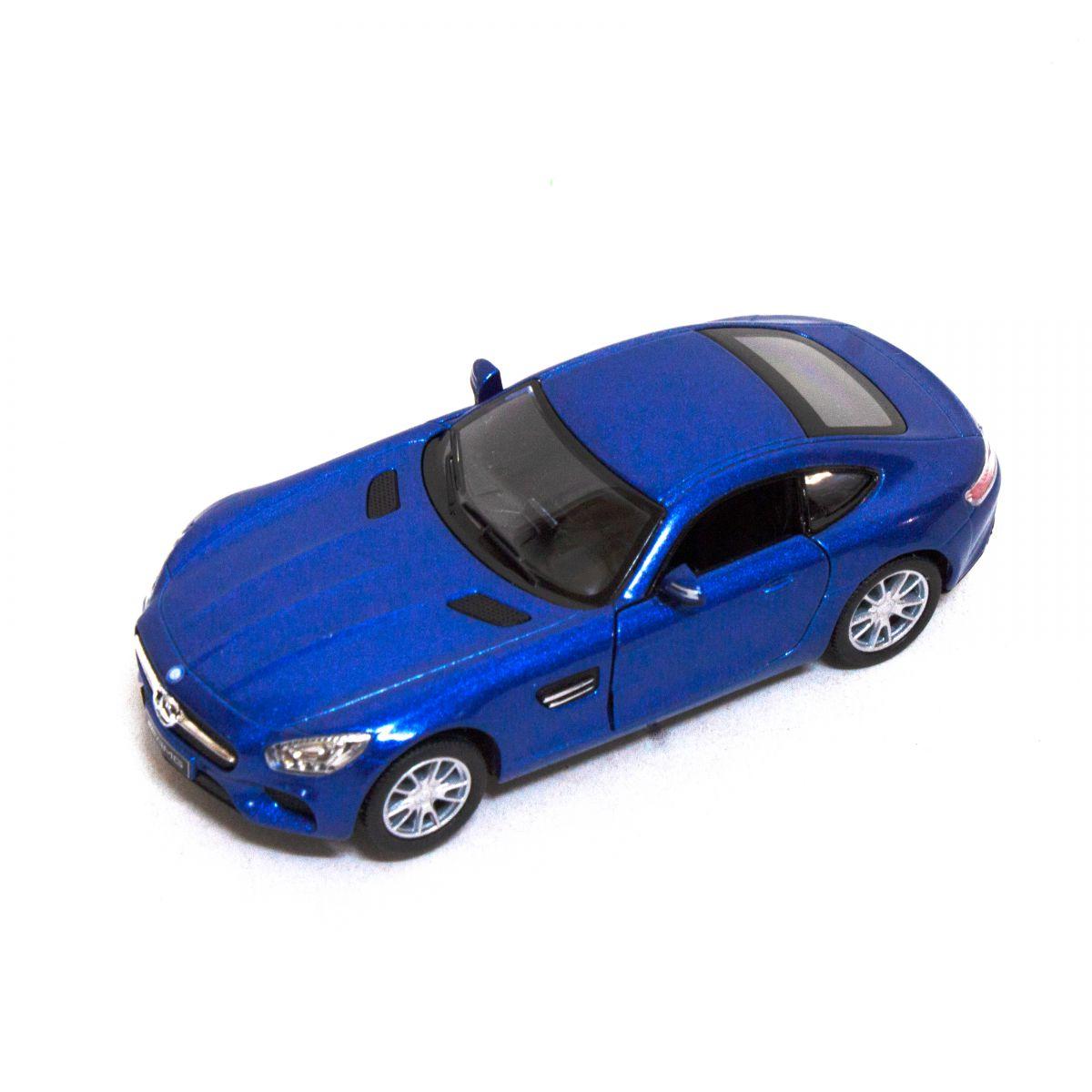"""Машинка KINSMART Mercedes-AMG GT (синяя) купить в магазине """"Пустун"""""""