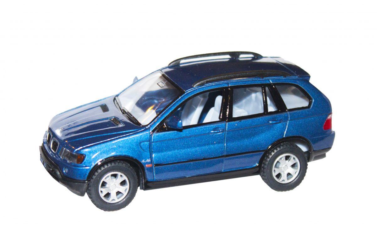 """Машинка KINSMART BMW X5 (синяя) купить в магазине """"Пустун"""""""