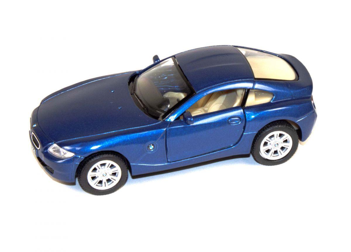 """Машинка KINSMART BMW Z4 Coupe (синяя) купить в магазине """"Пустун"""""""