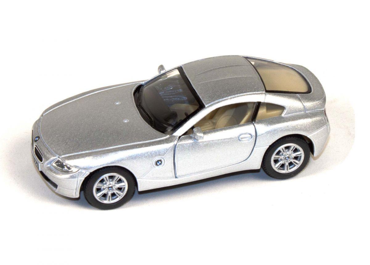 """Машинка KINSMART BMW Z4 Coupe (серебристая) купить в магазине """"Пустун"""""""