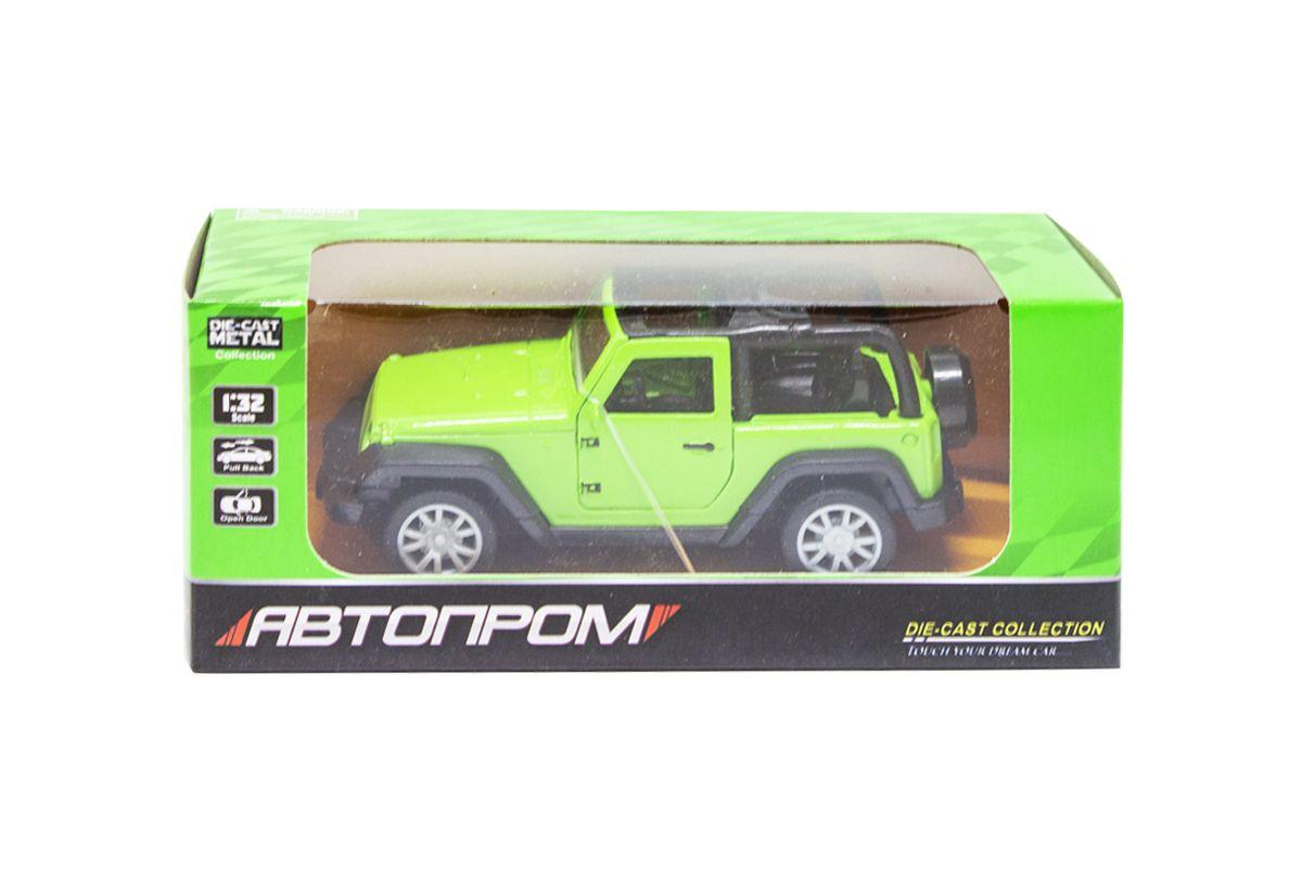 """Машинка Jeep из серии Автопром (зеленый) купить в магазине """"Пустун"""""""