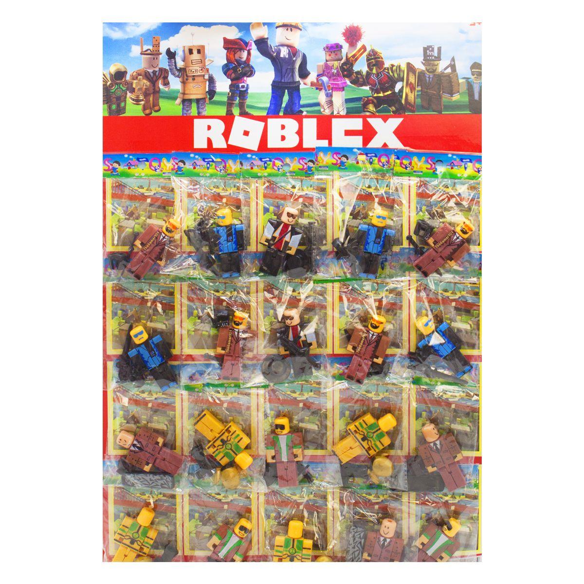 """Фигурки """"Roblox"""" на листе, 20 штук 21503 купить в магазине """"Пустун"""""""