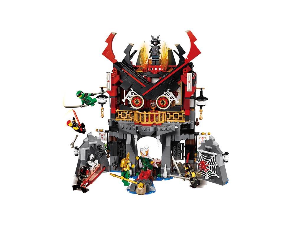 Конструктор Храм воскрешения серия Герои ниндзя