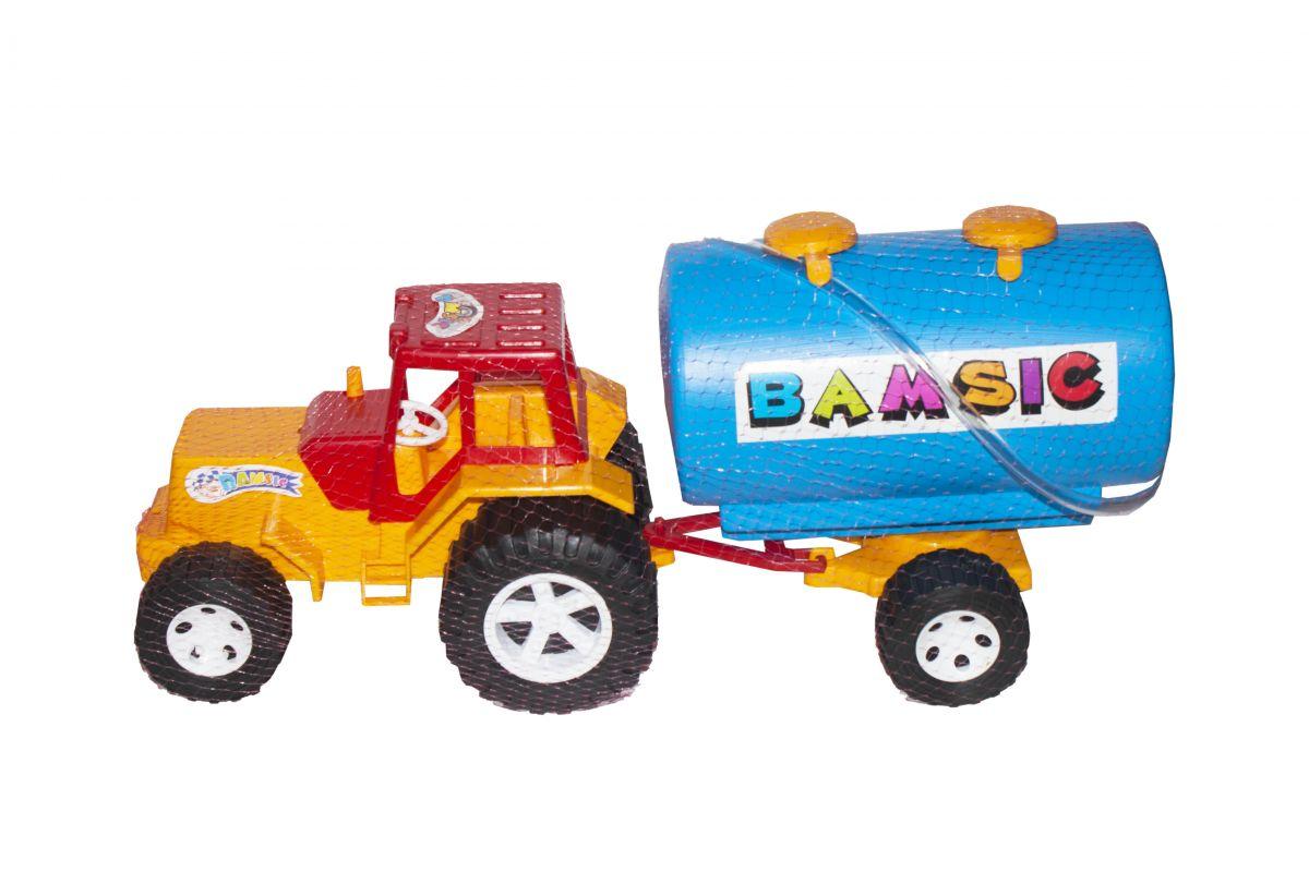 Трактор с цистерной (синий) Купить в магазине №1️⃣Пустун