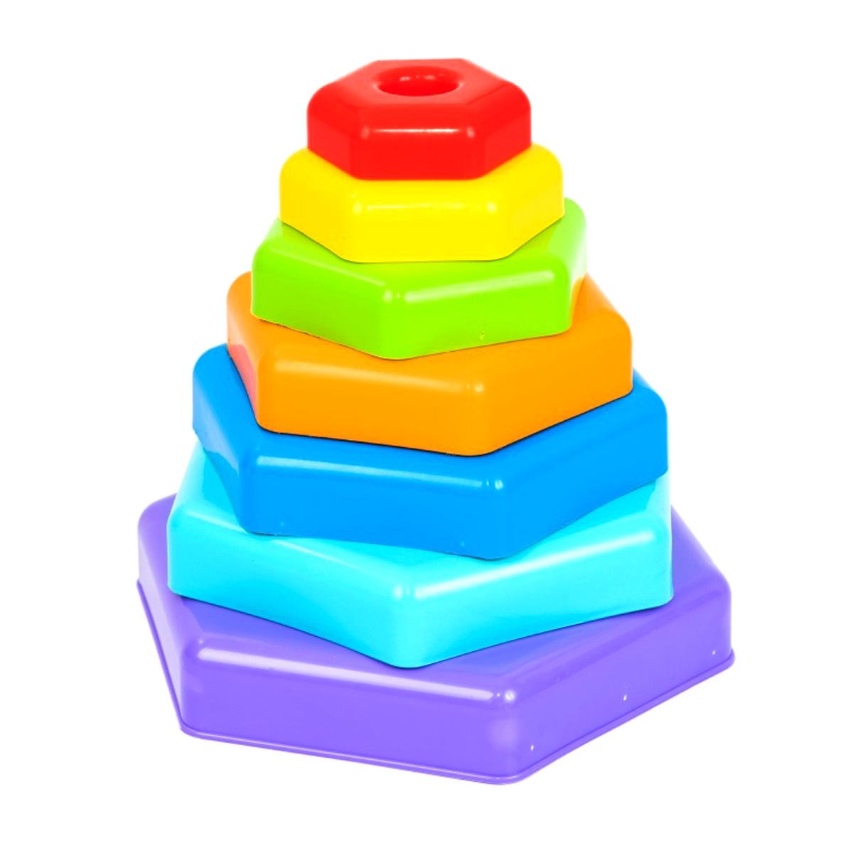 пирамидка радужная