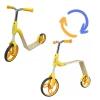"""Беговел-самокат 2 в 1 (желтый) B01-Yellow купить в магазине """"Пустун"""""""