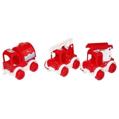 """Набор машинок TIGRES Kid cars-Пожарная (39547) купить в магазине """"Пустун"""""""