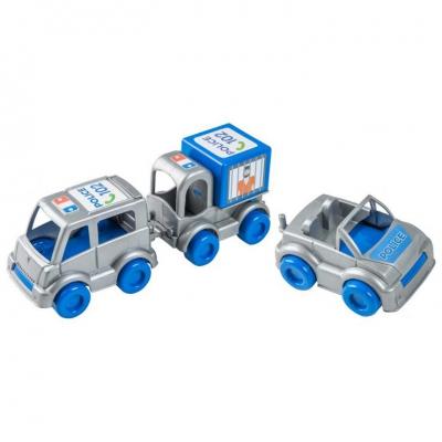 """Набор машинок TIGRES Kid cars-Полиция (39548) купить в магазине """"Пустун"""""""