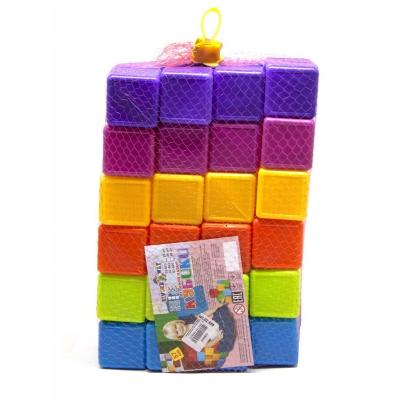 """Кубики разноцветные 48 штук купить в магазине """"Пустун"""""""
