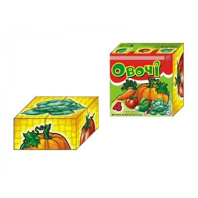 "Кубики Овощи ТехноК 4 кубика купить в магазине ""Пустун"""