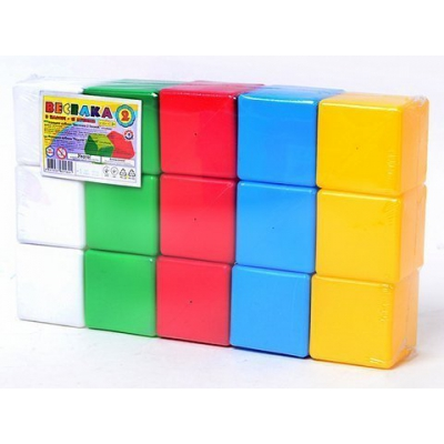 """Кубики Радуга 2 ТехноК 15 кубиков купить в магазине """"Пустун"""""""