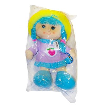 """Мягкая музыкальная кукла в капюшоне фиолетовый купить в магазине """"Пустун"""""""