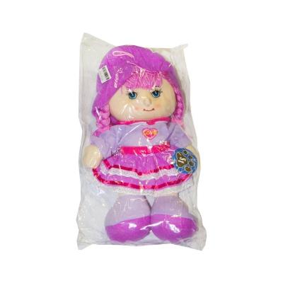 """Мягкая музыкальная кукла в капюшоне (в фиолетовом) купить в магазине """"Пустун"""""""