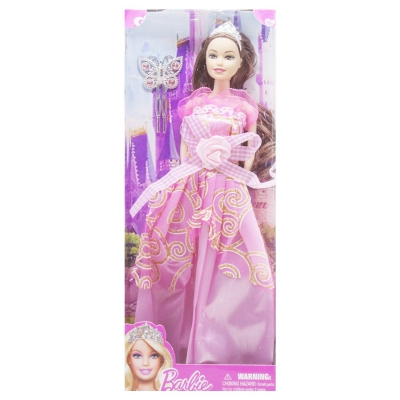 """Кукла в диадеме Barbie вид 6 купить в магазине """"Пустун"""""""