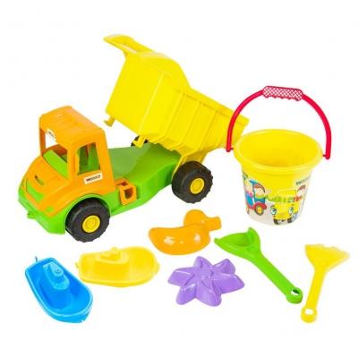 """Игровой набор TIGRES Multi truck 8 элементов (39204) купить в магазине """"Пустун"""""""