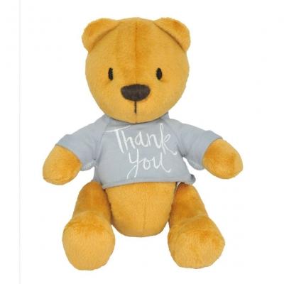 """Мягкая игрушка Мишка Денни thank you (ВЕ-0207) купить в магазине """"Пустун"""""""