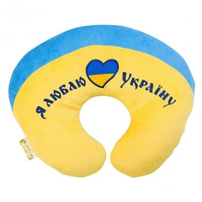"U подушка I love Ukraine (ПД-0122) купить в магазине ""Пустун"""