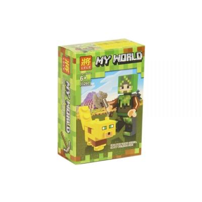 """Конструктор """"My World: Minecraft Оцелот"""" 33260 купить в магазине """"Пустун"""""""