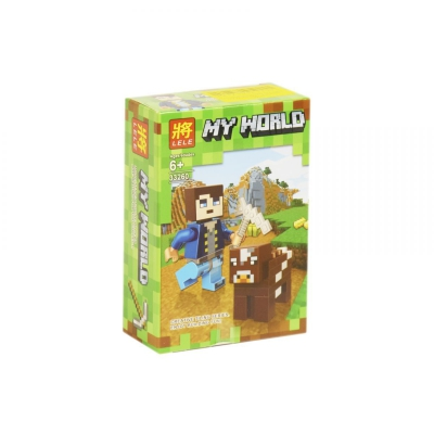 """Конструктор """"My World: Minecraft Корова"""" 33260 купить в магазине """"Пустун"""""""