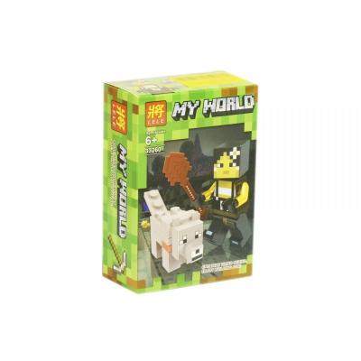 """Конструктор """"My World: Minecraft Волк"""" 33260 купить в магазине """"Пустун"""""""