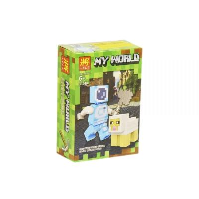 """Конструктор """"My World: Minecraft Овечка"""" 33260 купить в магазине """"Пустун"""""""