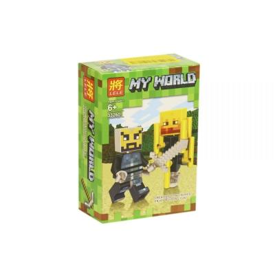 """Конструктор """"My World: Minecraft Ифрит"""" 33260 купить в магазине """"Пустун"""""""