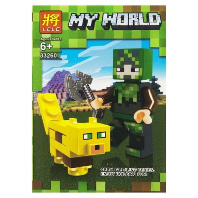 """Конструктор """"My World: Minecraft Оцелот"""" 1 SM2486 купить в магазине """"Пустун"""""""
