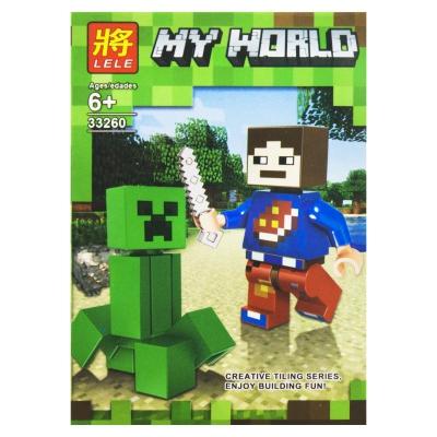 "Конструктор ""My World: Minecraft Крипер"" 5 SM2486 купить в магазине ""Пустун"""