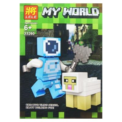 """Конструктор """"My World: Minecraft Овечка"""" 8 SM2486 купить в магазине """"Пустун"""""""