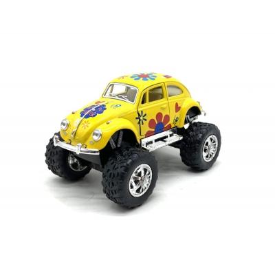 """Легковая модель KINSMART, желтый KT5057WFB купить в магазине """"Пустун"""""""