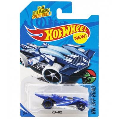 """Машинка """"Hot Wheel"""", металлопластиковая, синяя E757-1 купить в магазине """"Пустун"""""""