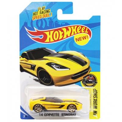 """Машинка """"Hot Wheel"""", металлопластиковая, желтая E757-1 купить в магазине """"Пустун"""""""