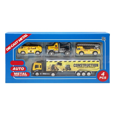 """Набор металлопластиковых машинок """"Truck"""" 1 8532A/8532C/8532D купить в магазине """"Пустун"""""""