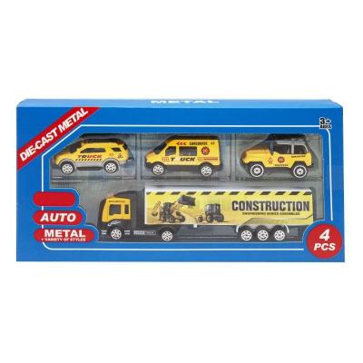 """Набор металлопластиковых машинок """"Truck"""" 8532A/8532C/8532D купить в магазине """"Пустун"""""""