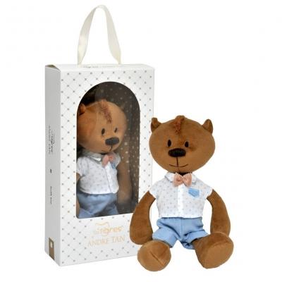 """Мягкая игрушка Мишка Адриан (ВЕ-0215) купить в магазине """"Пустун"""""""