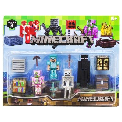 """Набор фигурок """"Minecraft"""", вид 1 P19278 купить в магазине """"Пустун"""""""