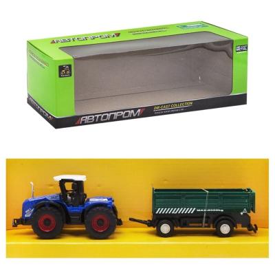 """Машинка """"Автопром. Трактор"""", (зеленый прицеп) 7786-2 купить в магазине """"Пустун"""""""