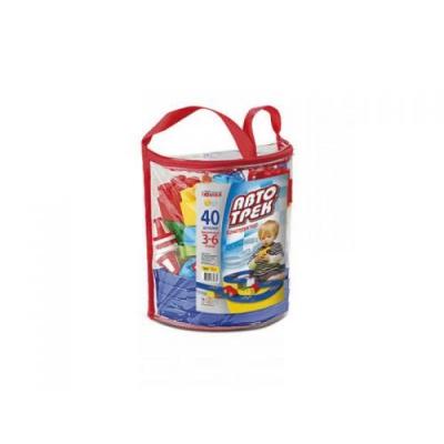 """Конструктор в рюкзаке Автотрек 40 деталей (0675) купить в магазине """"Пустун"""""""