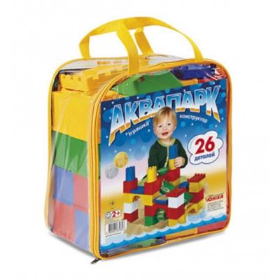 """Конструктор детский Аквапарк 26 деталей (0347) купить в магазине """"Пустун"""""""