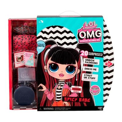 """Игровой набор с куклой L.O.L. Surprise! серии O.M.G. S4 – Спайси-Леди (572770) купить в магазине """"Пустун"""" Фото 3"""