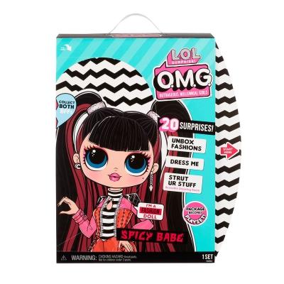 """Игровой набор с куклой L.O.L. Surprise! серии O.M.G. S4 – Спайси-Леди (572770) купить в магазине """"Пустун"""" Фото 8"""