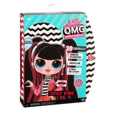 """Игровой набор с куклой L.O.L. Surprise! серии O.M.G. S4 – Спайси-Леди (572770) купить в магазине """"Пустун"""" Фото 9"""