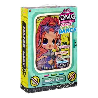 """Набор с куклой L.O.L. Surprise! серии O.M.G.Dance  Леди-Крутышка (117889) купить в магазине """"Пустун"""" Фото 11"""