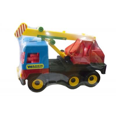 """Игрушечный подъемный автокран Middle truck (39226) купить в магазине """"Пустун"""""""