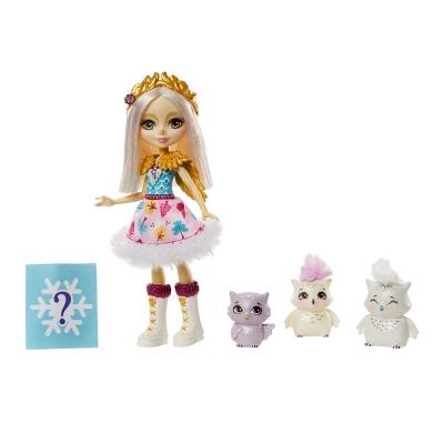 """Игровой набор Enchantimals Семья Белой Совы одели (GJX46) купить в магазине """"Пустун"""""""