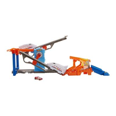 """Игровой набор Hot Wheels Гонки на железной дороге (GRW38) купить в магазине """"Пустун"""""""
