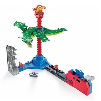 """Игровой набор Hot Wheels «Воздушная атака дракона» (GJL13) купить в магазине """"Пустун"""""""