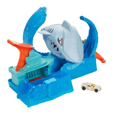 """Игровой набор Hot Wheels «Голодная Акула-робот» серии «Измени цвет» (GJL12) купить в магазине """"Пустун"""""""